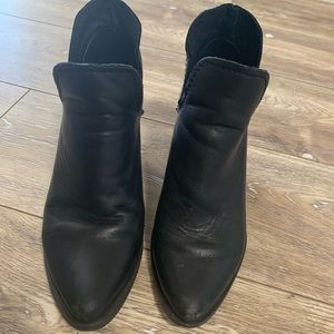Steve Madden leather booties